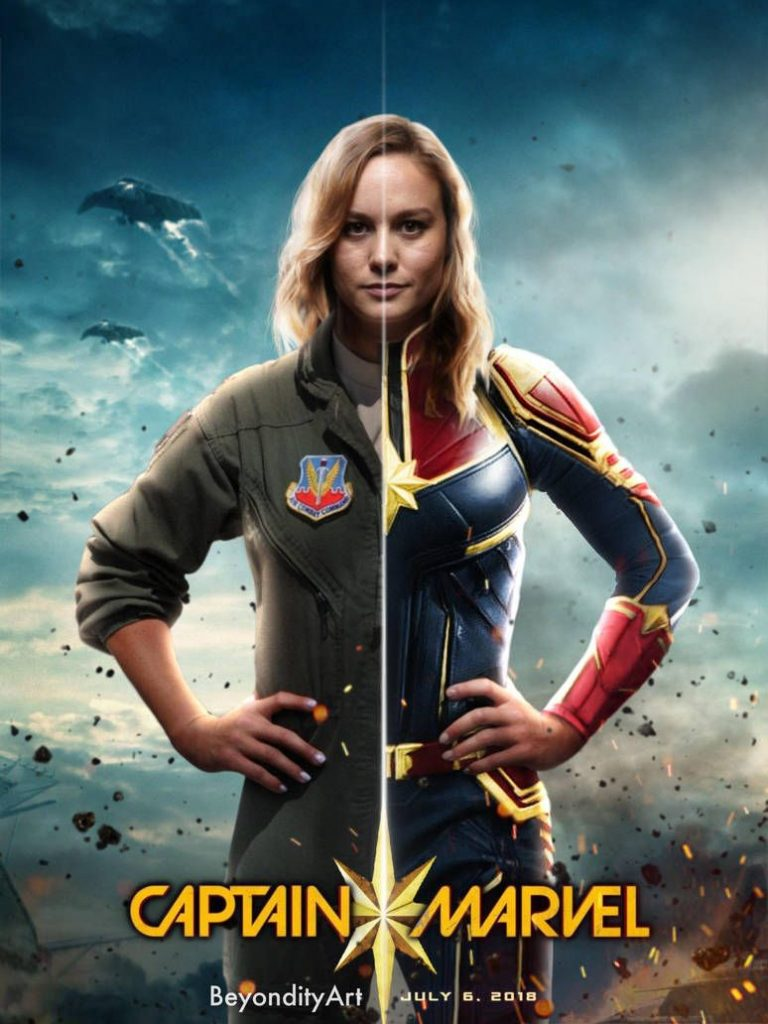 Красивые картинки Капитан Марвел (3)