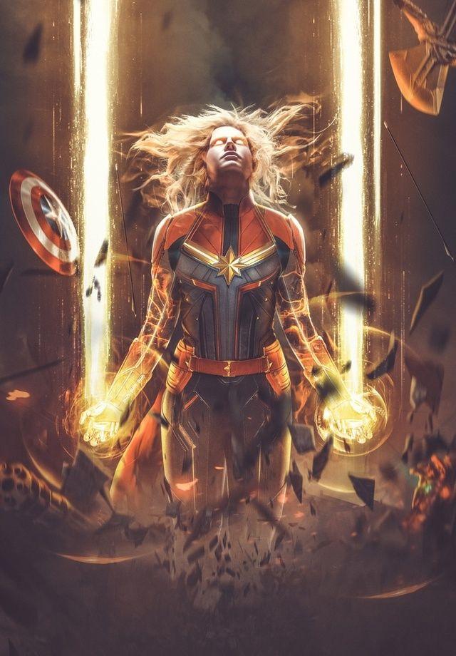 Красивые картинки Капитан Марвел (5)