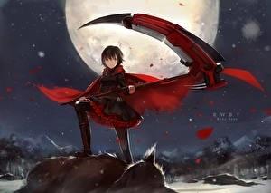 Красивые картинки аниме девочки с оружием005