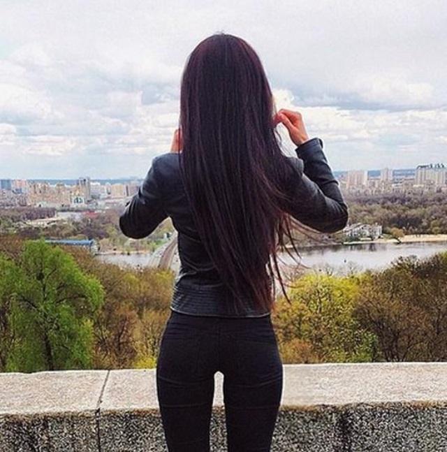 Красивые картинки девушек на аватарку со спины002