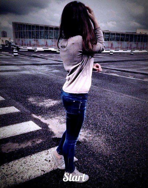 Красивые картинки девушек на аватарку со спины009