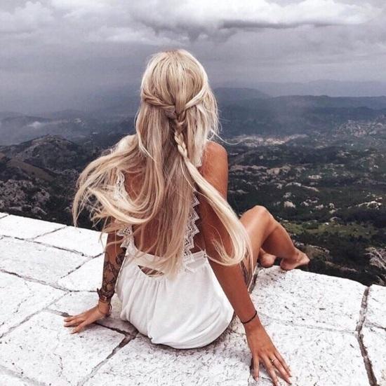 Красивые картинки девушек на аватарку со спины013