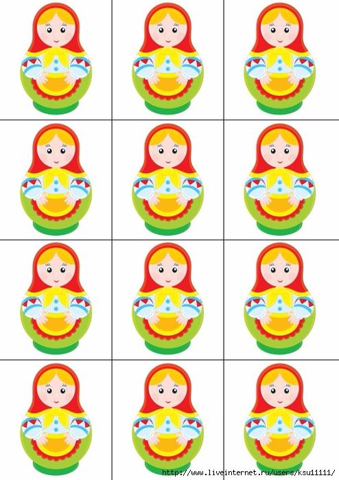 Красивые картинки для счетного материала в детском саду (19)