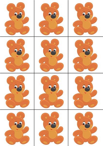 Красивые картинки для счетного материала в детском саду (22)