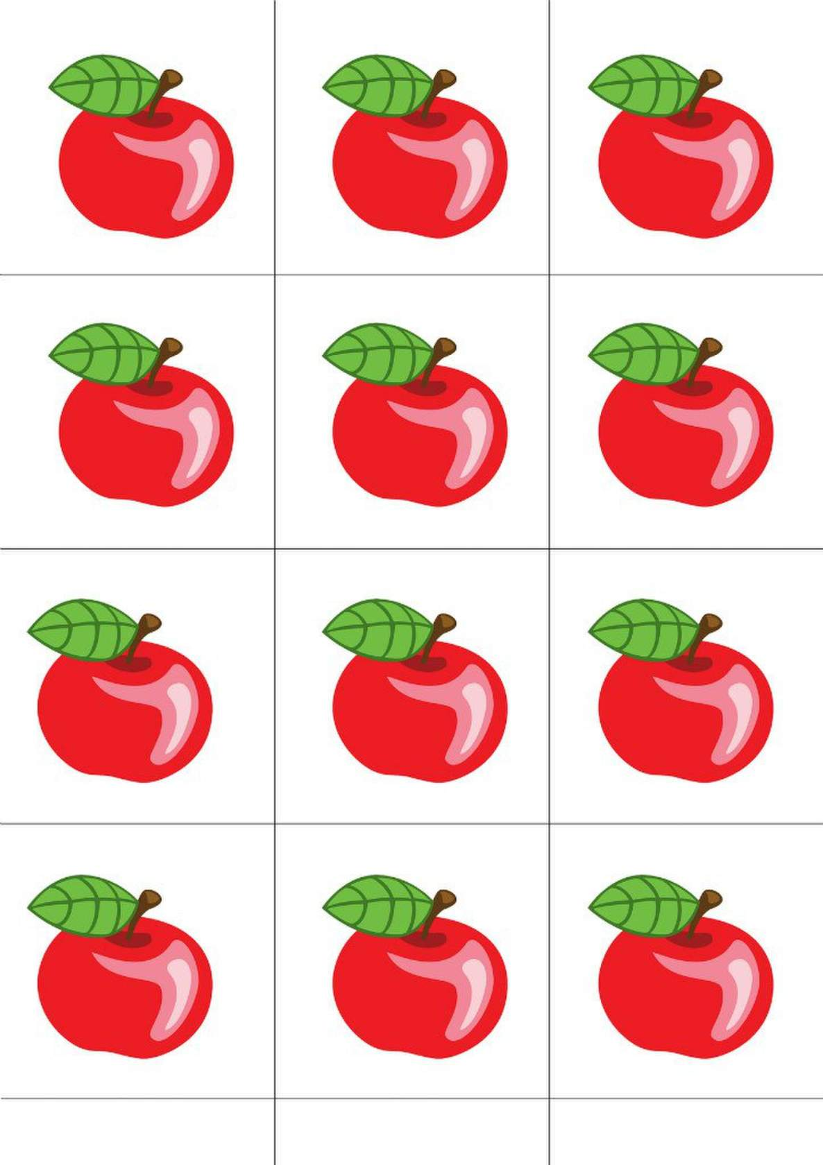 Красивые картинки для счетного материала в детском саду (3)