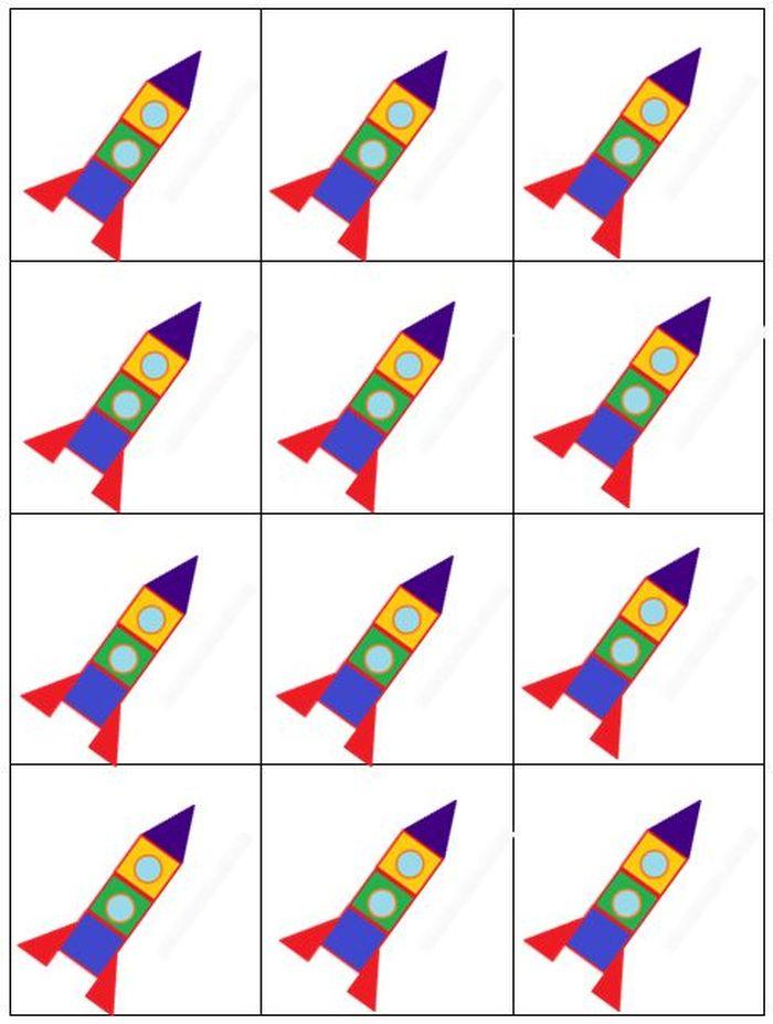 Картинки ракеты для детей в детском саду