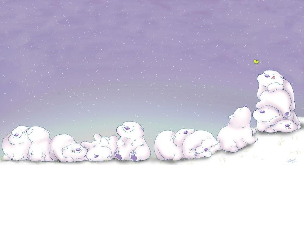 Красивые картинки кавайные мишки014