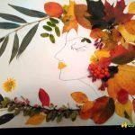 Красивые картинки осень девушка с листьями для детей
