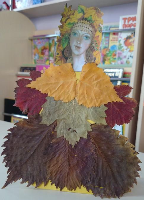 Красивые картинки осень девушка с листьями для детей (4)