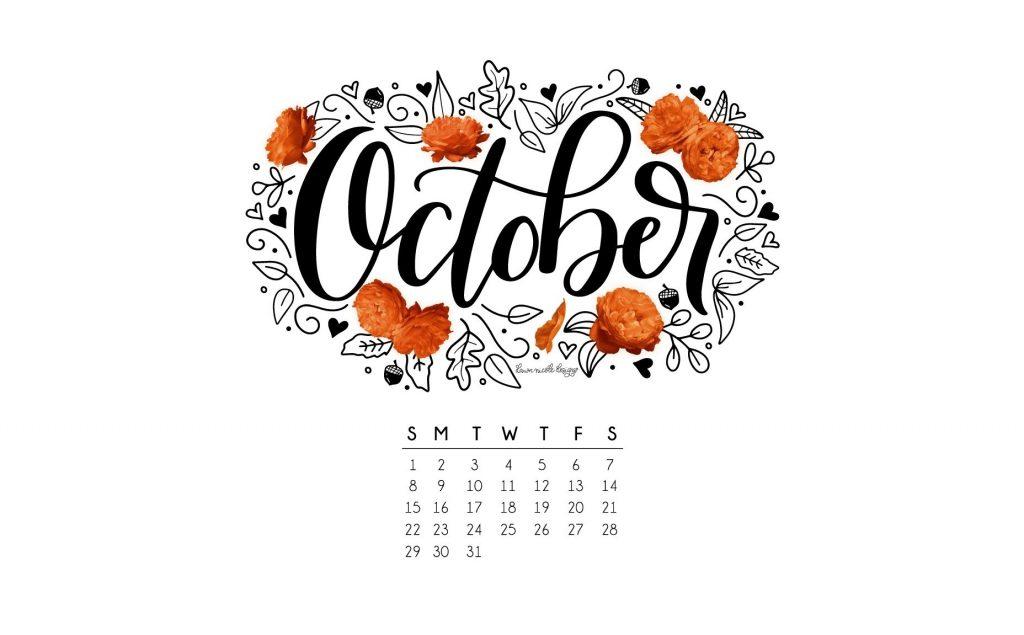 Красивые картинки про октябрь месяц с надписями005