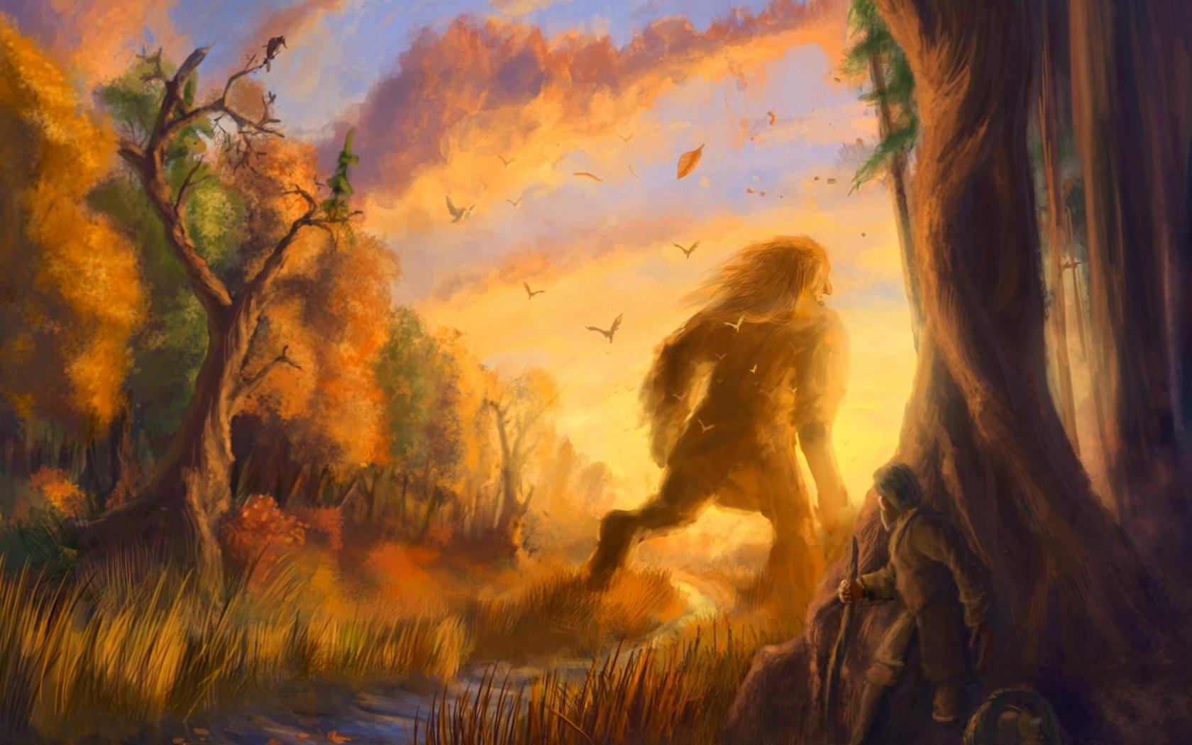 Красивые картинки сказочные осень (18)