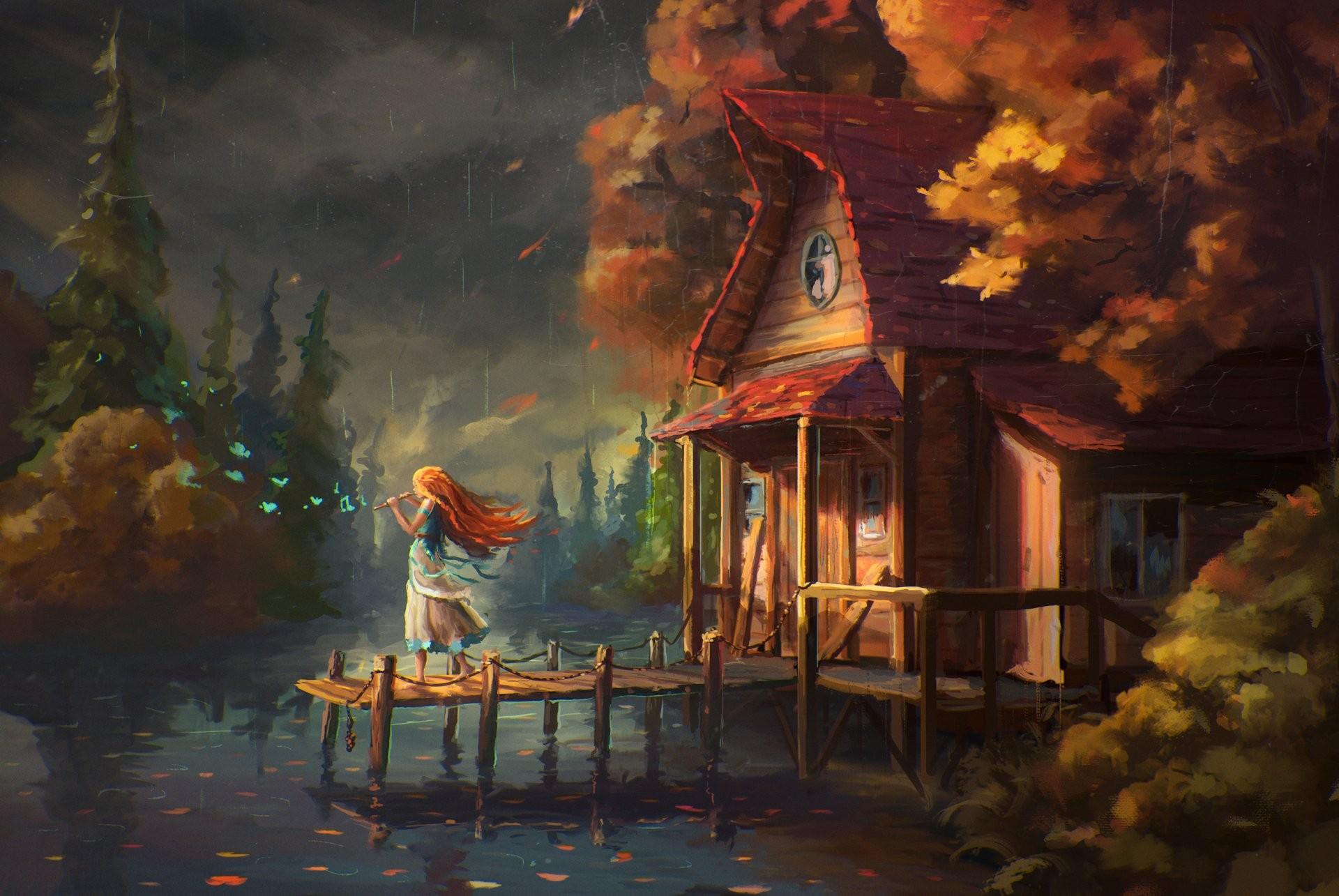 Красивые картинки сказочные осень (19)
