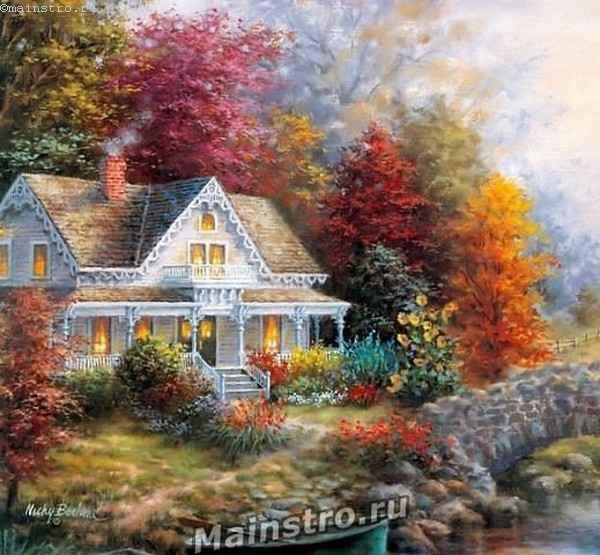 Красивые картинки сказочные осень (9)