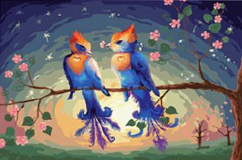 Красивые картинки сказочные птички (5)