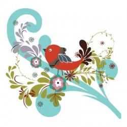 Красивые картинки сказочные птички (6)
