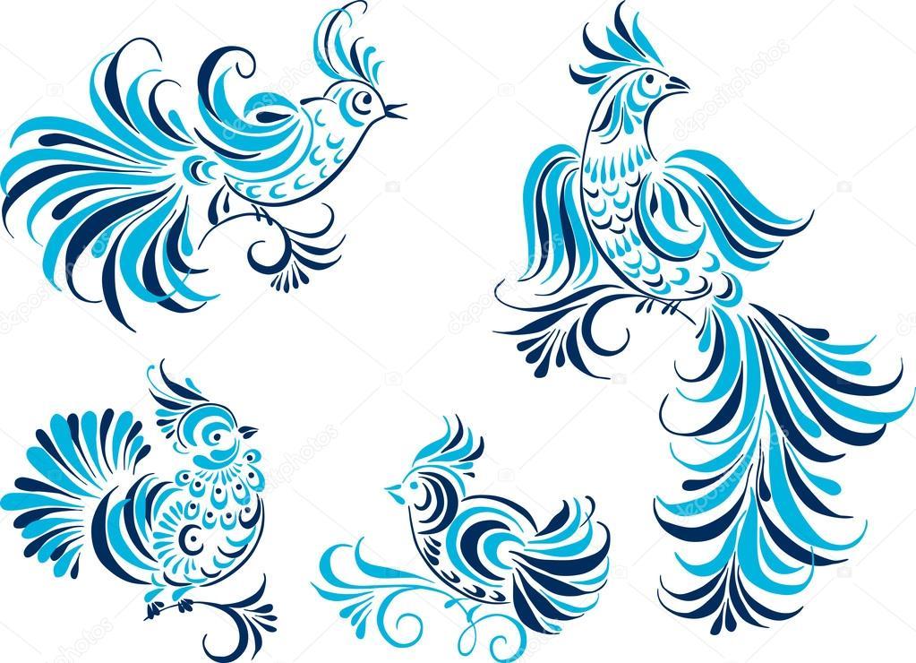 Красивые картинки сказочные птички (9)