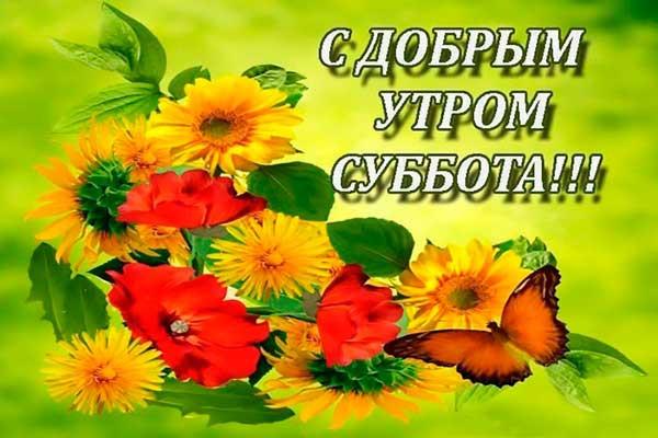 Красивые картинки с добрым утром в субботу - 32 открытки (12)