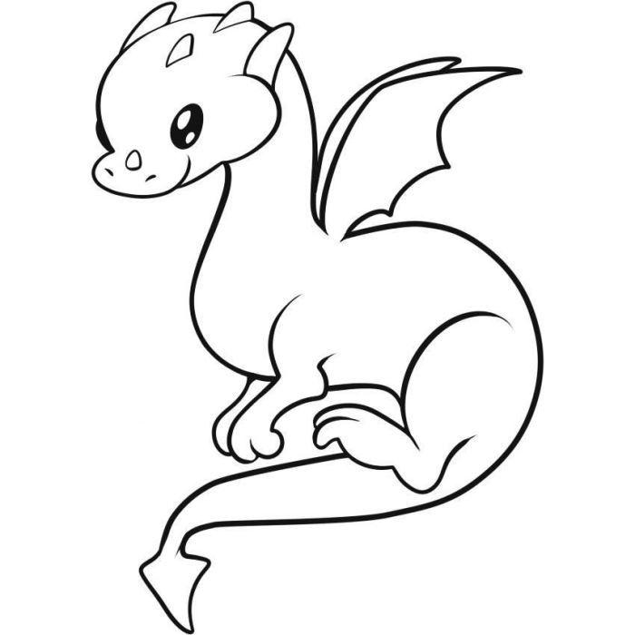 Красивые картины дракона карандашом (10)