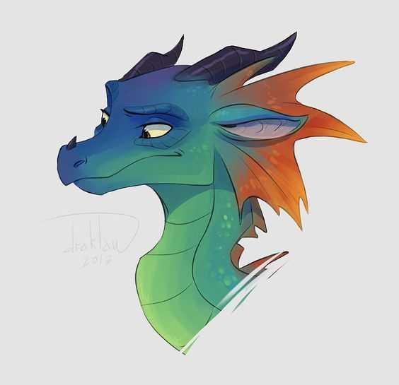 Красивые картины дракона карандашом (17)