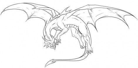 Красивые картины дракона карандашом (20)