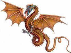 Красивые картины дракона карандашом (21)