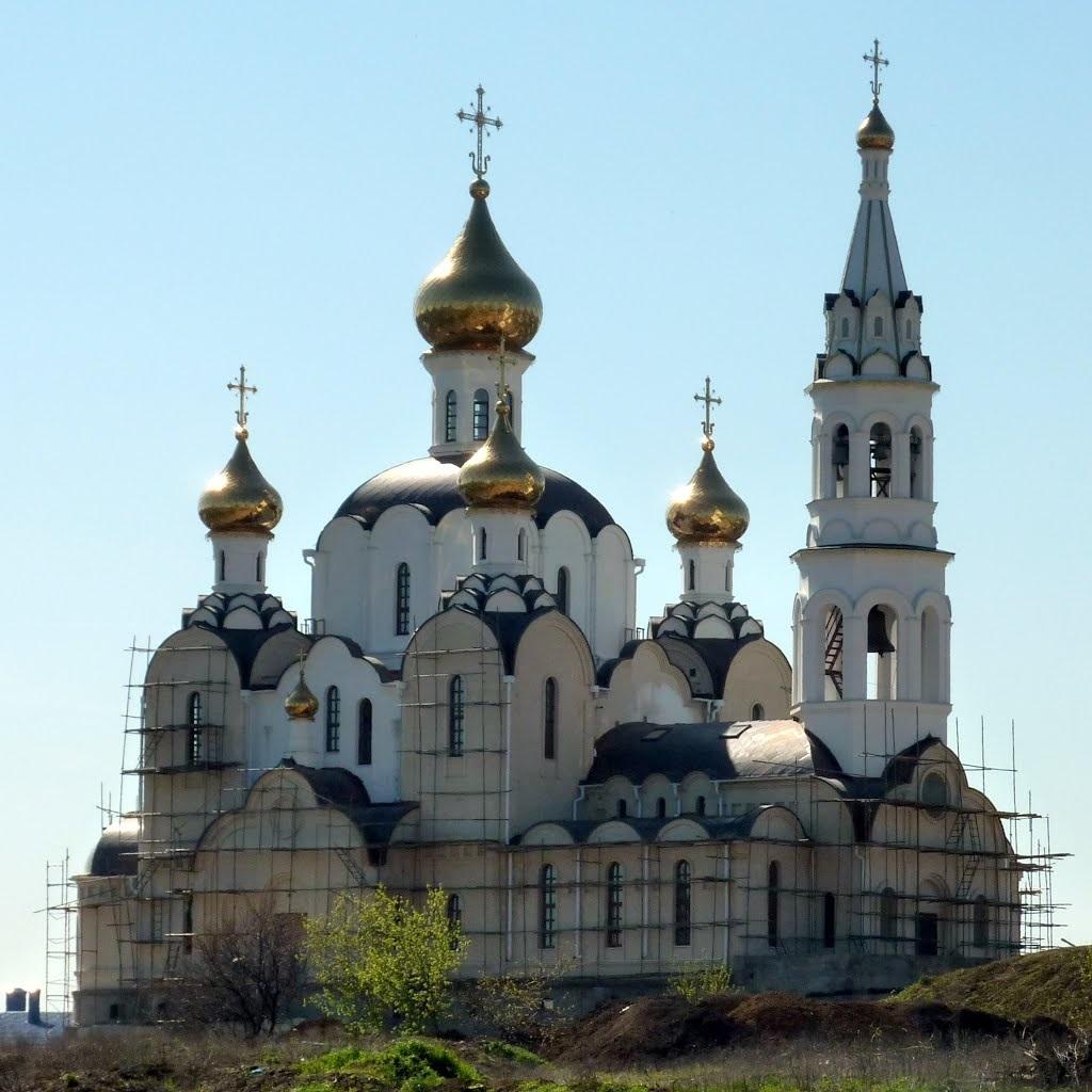 Красивые картины церковь осенью009