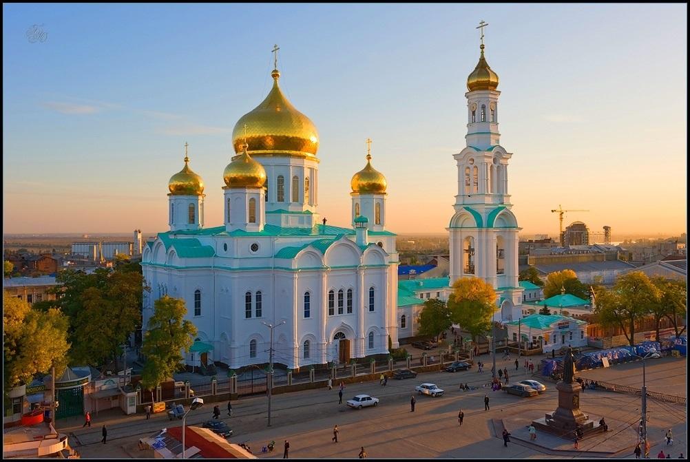 Красивые картины церковь осенью024