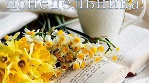 Красивые открытки с добрым утром в понедельник012