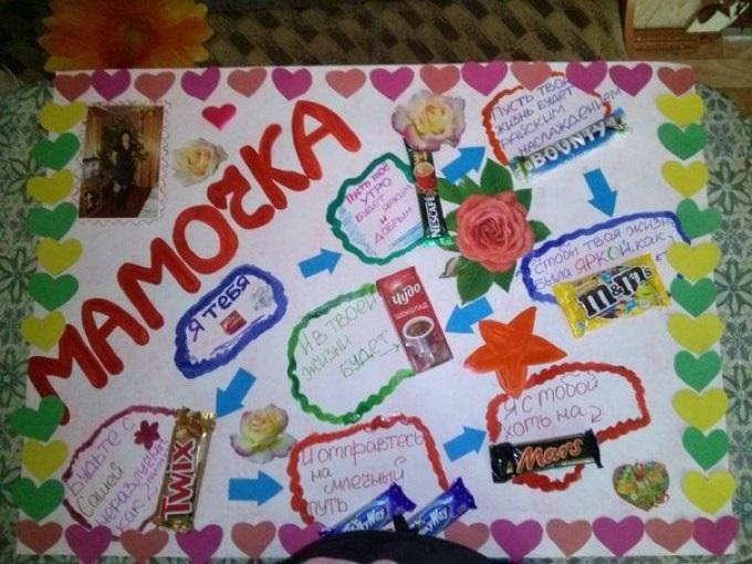 Красивые плакаты маме на день рождения021