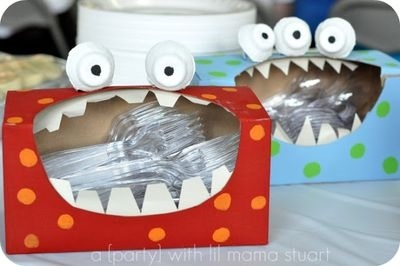 Красивые поделки из коробочек из под йогурта005