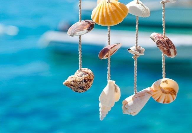 Красивые поделки из ракушек на тему море004