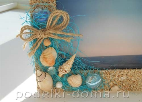 Красивые поделки из ракушек на тему море012