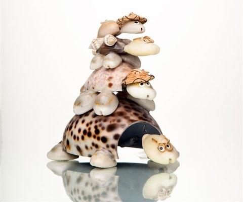 Красивые поделки из ракушек на тему море017