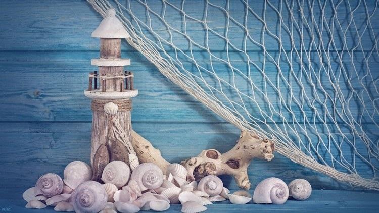 Красивые поделки из ракушек на тему море023