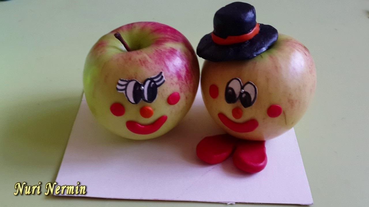 Красивые поделки осень из яблок002