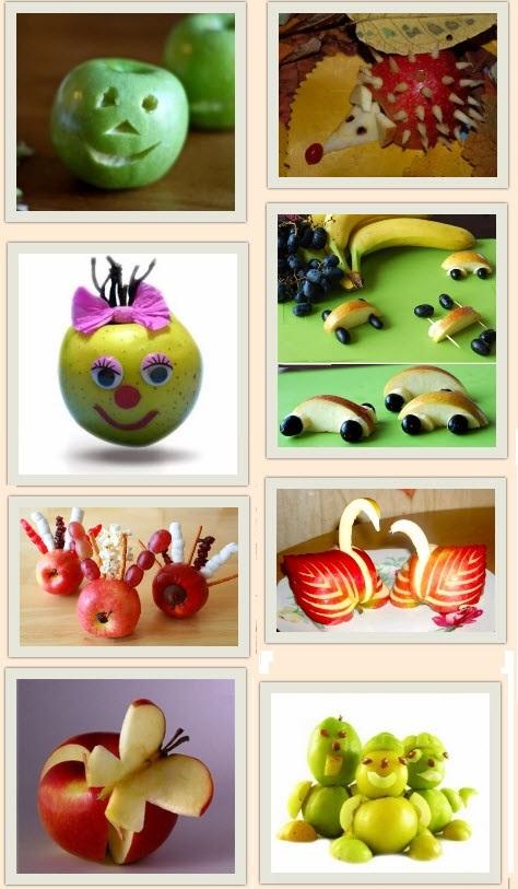 Красивые поделки осень из яблок014
