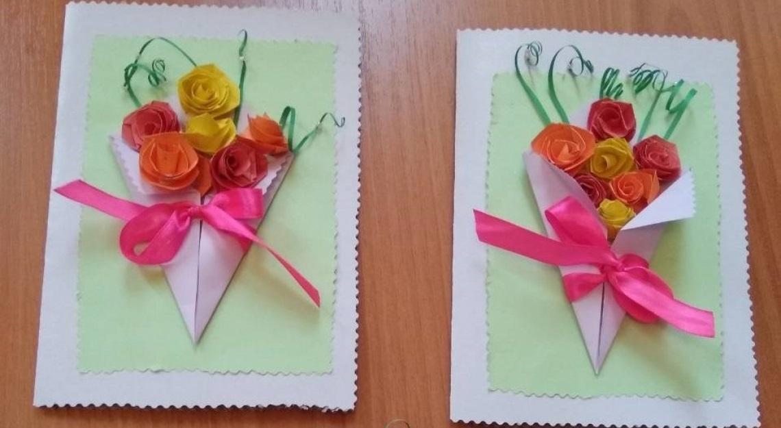 Красивые поделки открытки ко дню пожилого человека012