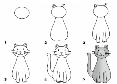 Красивые рисунки карандашом для детей 4 лет для девочек (14)