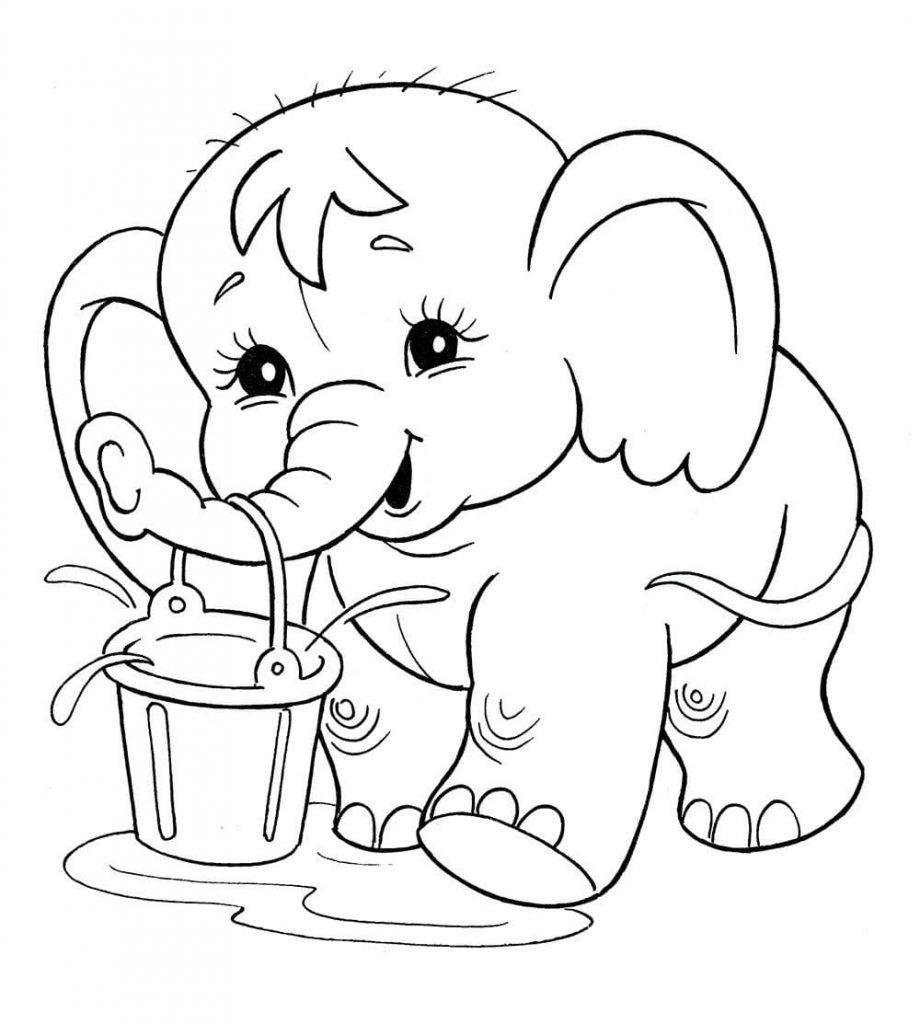Красивые рисунки карандашом для детей 4 лет для девочек (2)