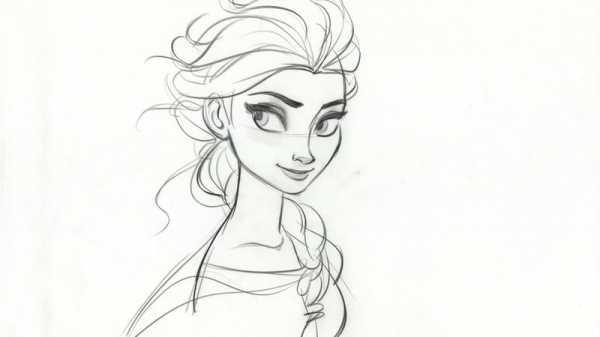 Красивые рисунки карандашом для детей 4 лет для девочек (25)