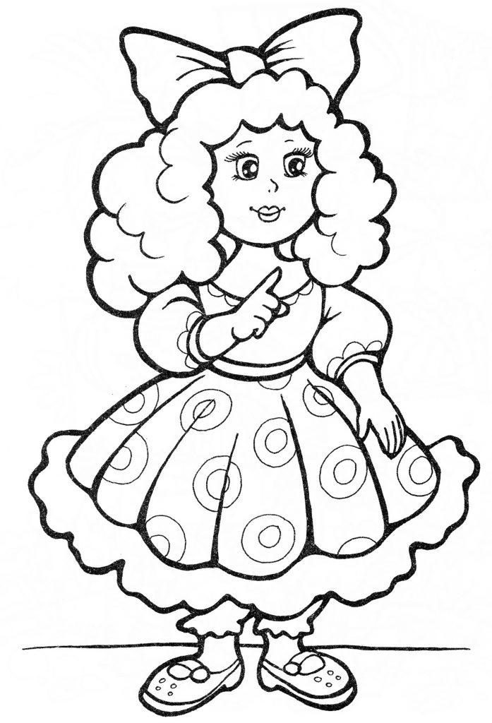 Красивые рисунки карандашом для детей 4 лет для девочек (32)