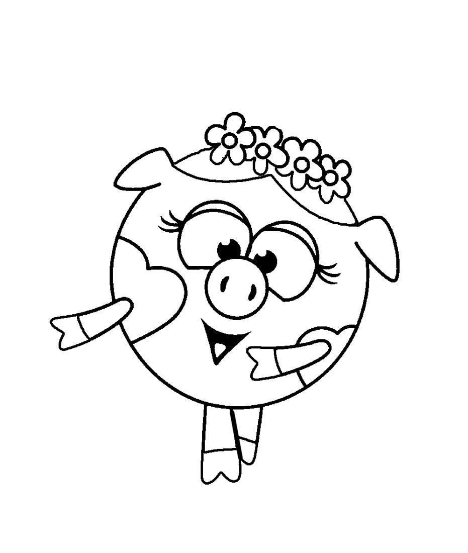 Красивые рисунки карандашом для детей 4 лет для девочек (40)