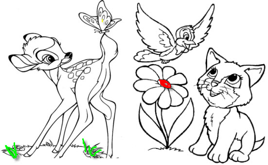 Красивые рисунки карандашом для детей 4 лет для девочек (8)