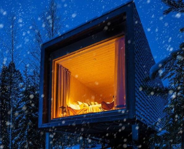 Красивые фото зимнего вида из окна004