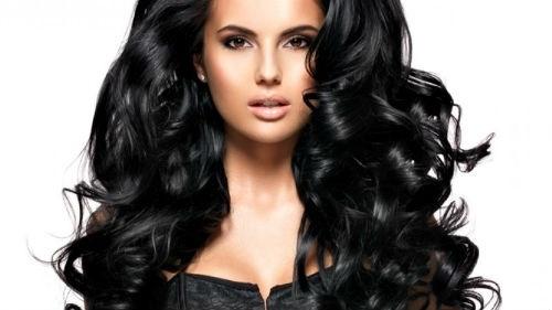Красивые фото кудрявые черные волосы013