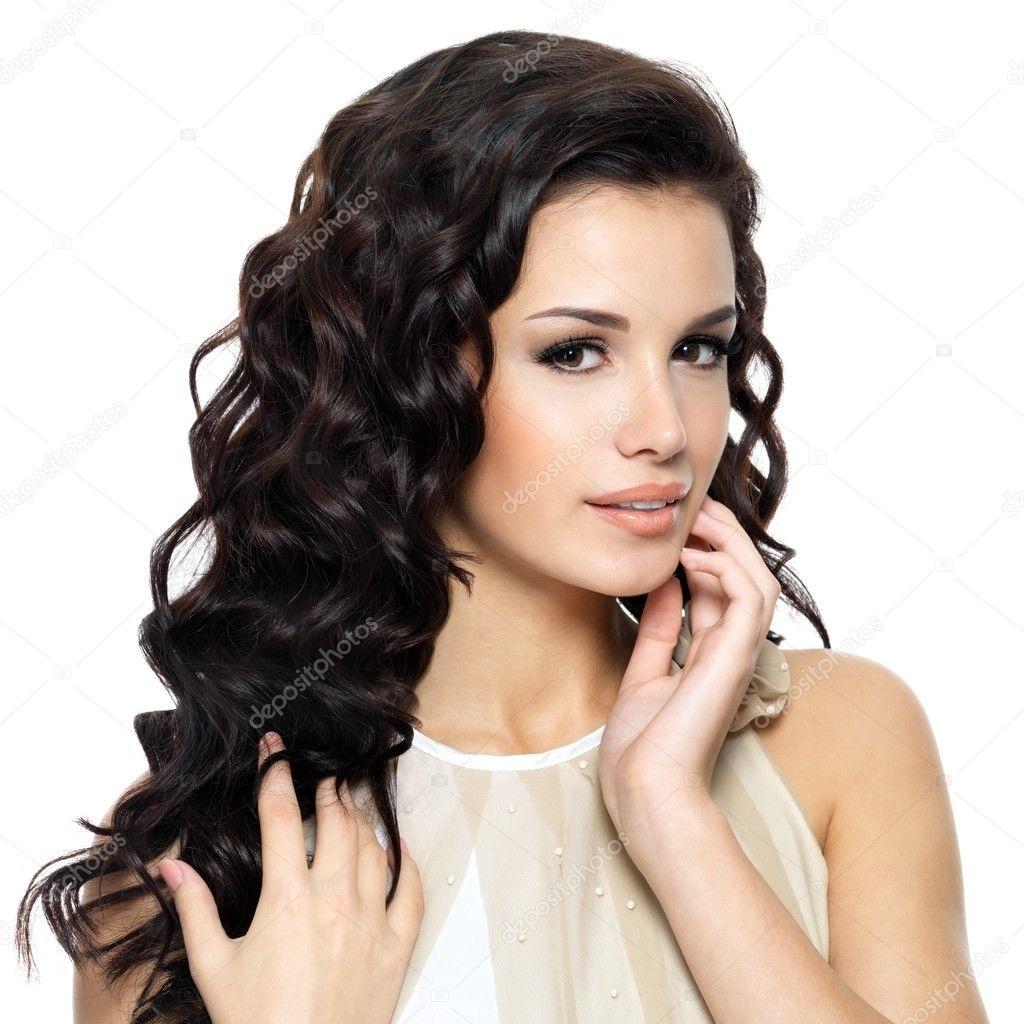 Красивые фото кудрявые черные волосы017