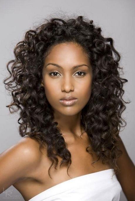 Красивые фото кудрявые черные волосы021