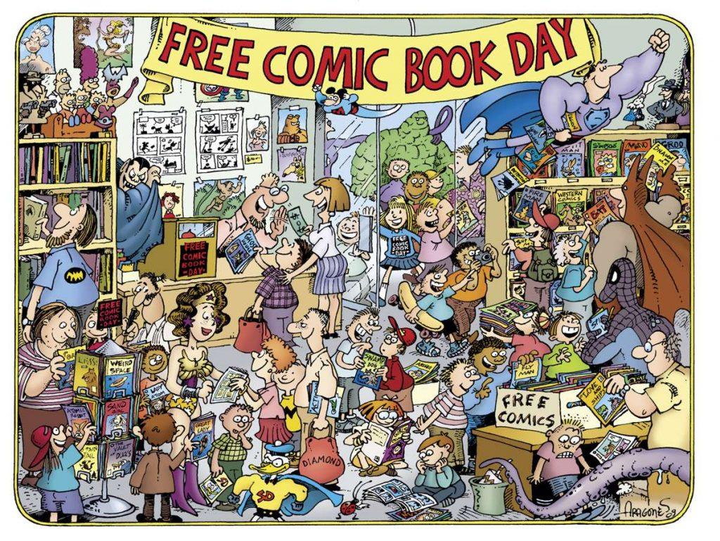 Красивые фото на Национальный день комиксов в США (6)