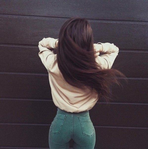 Красивые фото на аву для девушек брюнеток без лица (17)