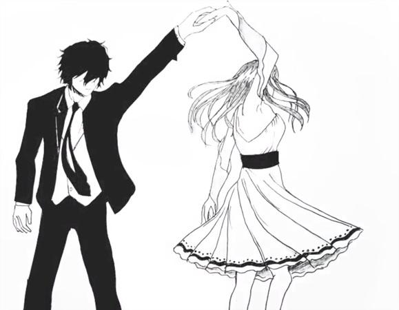 Красивые фото парень и девушка рисунок карандашом005
